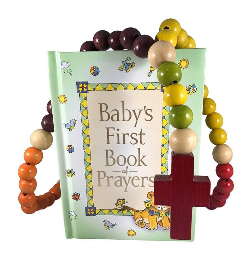 Baby Catholic Baptism Gift Set