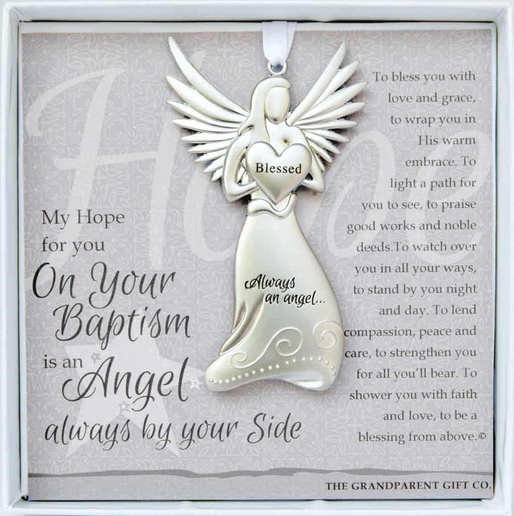 Baptism Keepsake Ornament