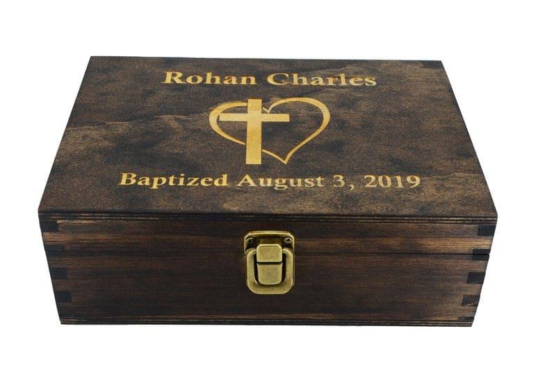Baptism Memory Box