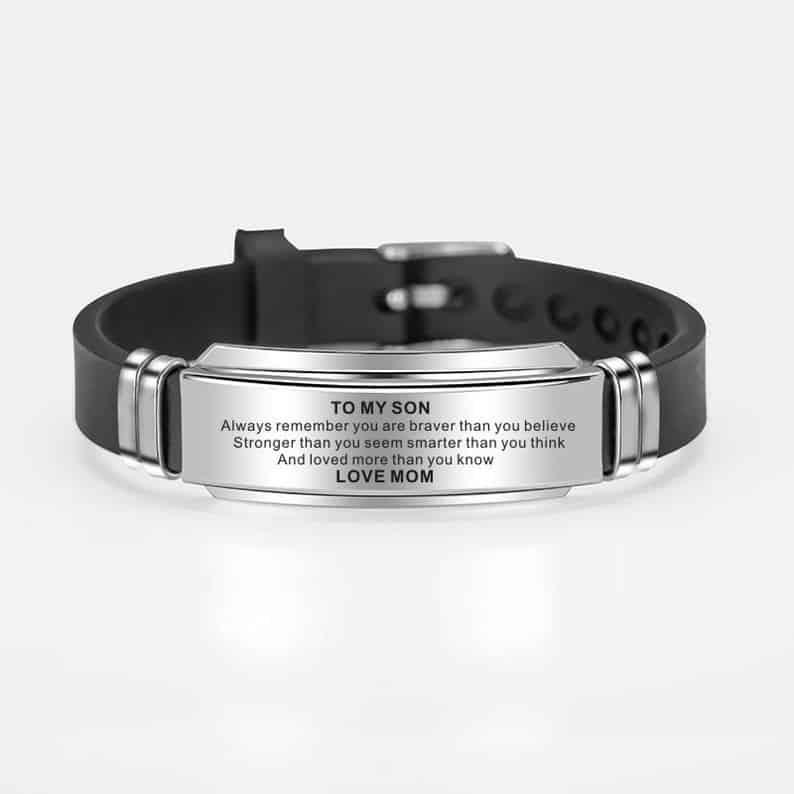 Engraved Bracelet Wristband