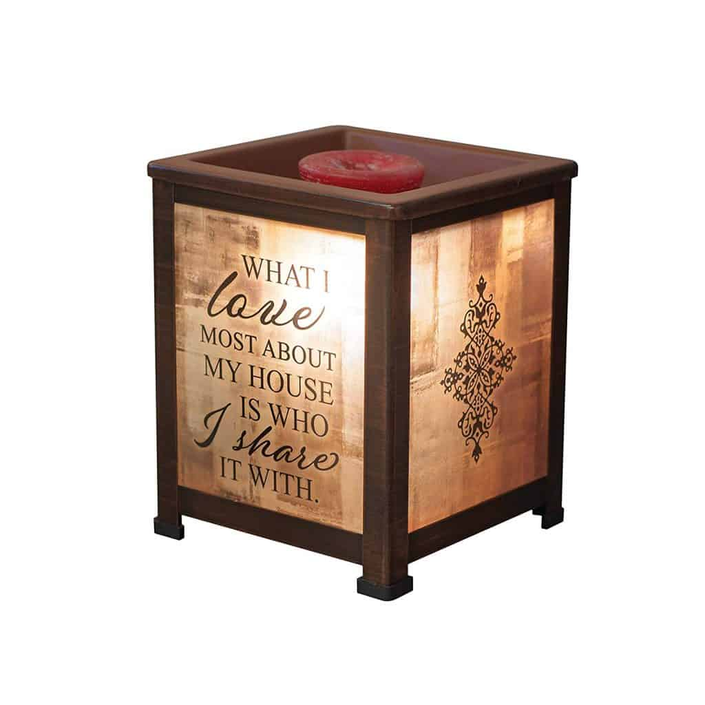 Engraved Lantern Warmer
