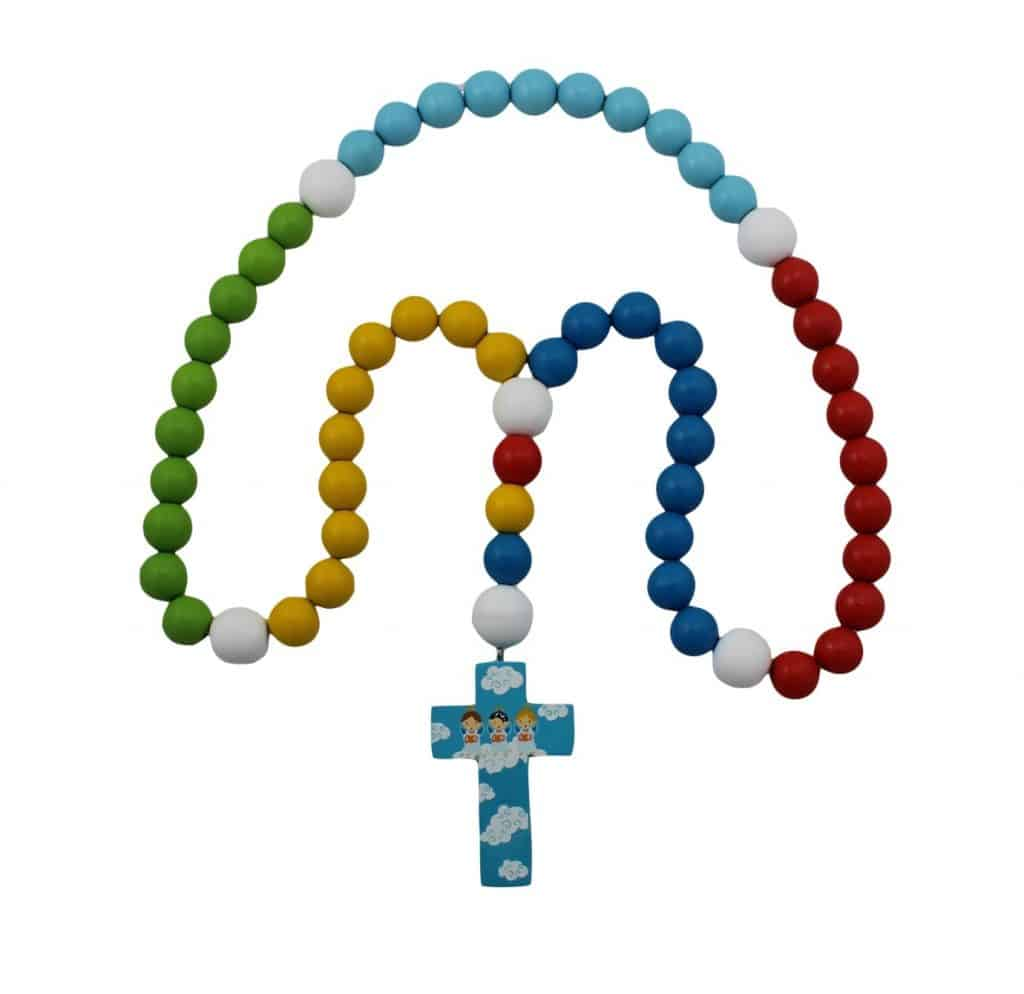 First Rosary with Blue Cross