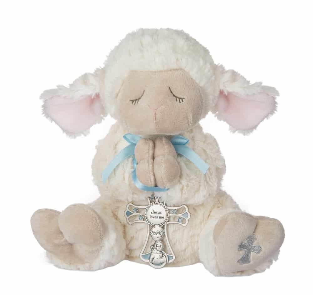 Lamb With Crib Cross