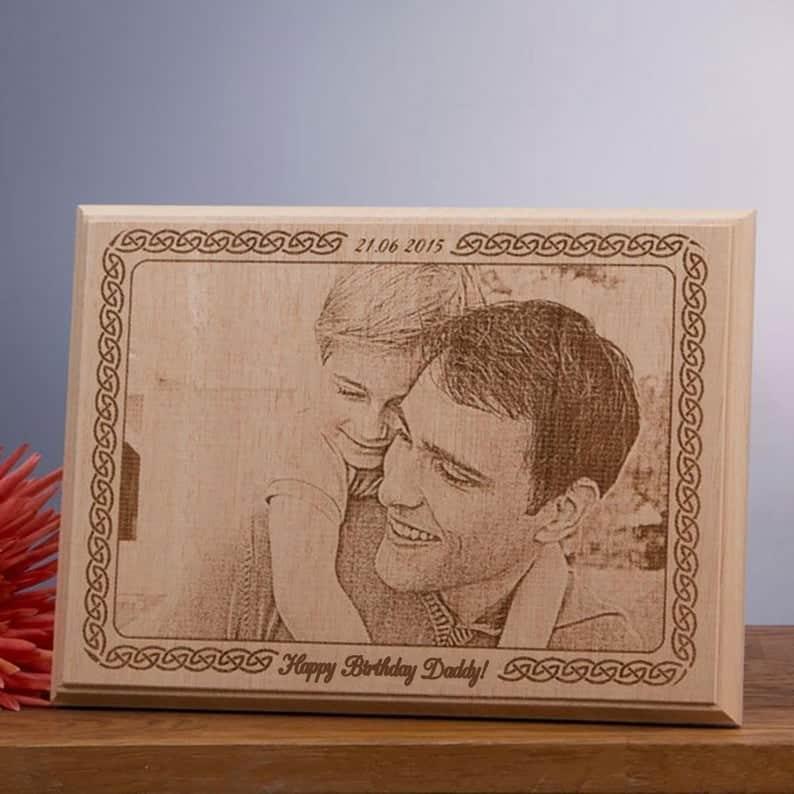 Custom Photo on Wood
