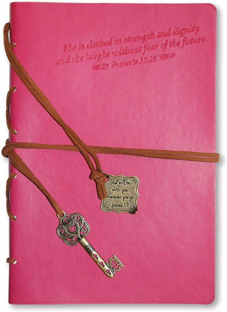 Divinity Boutique Journal with Pink Key Charm