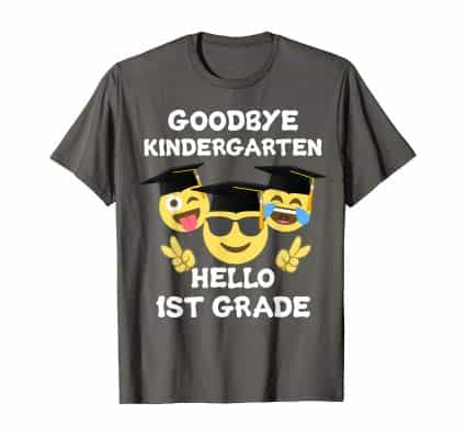Goodbye Kindergarten graduation T-shirt