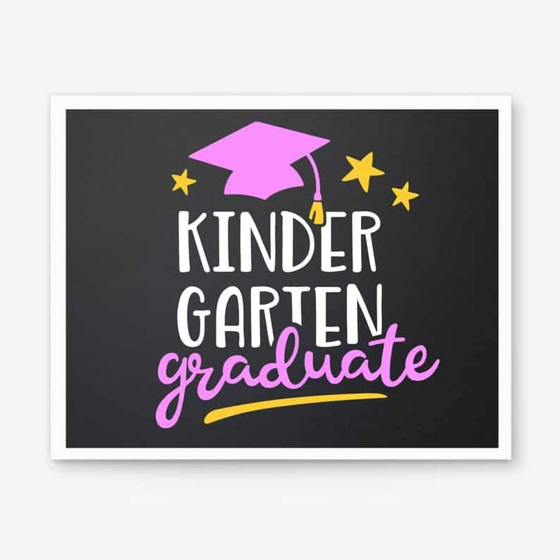Kindergarten graduation Card