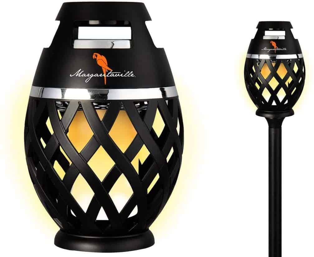 Outdoor Tiki Torch Bluetooth Light-Up Speaker